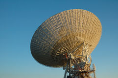 Huge Satellite dish. General view of a huge satellite dish Royalty Free Stock Photos