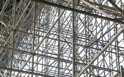 Huge scaffolding Stock Photos