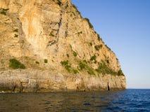 Huge sea cliff Royalty Free Stock Photos