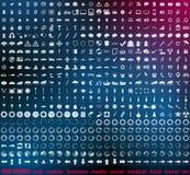 Huge set of 500 detailed web icons Stock Image