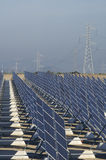 Huge solar station Stock Photos