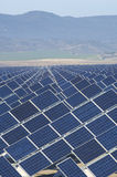 Huge solar station Royalty Free Stock Image