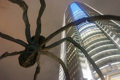 Spider of Roppongi, Japan royalty free stock photos