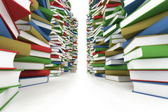 Huge stack of books Stock Image
