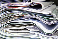 Huge Stack of Papers Royalty Free Stock Photo