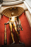 Huge Statue of Hercules  in the Vatican Museums in Rome Italy. Rome Italy, the Eternal city, which has been a destination for tourists since the times of the Stock Photos