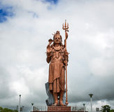 Huge statue of Lord Shiva in Mauritius Royalty Free Stock Photos