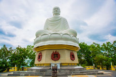 A huge statue of a sitting Buddha.Pagoda Belek.Nha Trang.Vietnam. Stock Photo