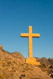 Huge stone cross, Polop Stock Photos