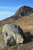 Huge stone Stock Image
