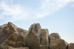 Huge stone mountain Royalty Free Stock Photo