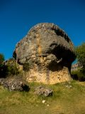 Huge stone in nature. royalty free stock photo