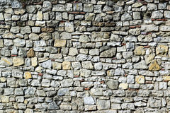 Huge stone wall texture background Royalty Free Stock Photography