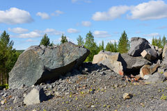 Huge stones Stock Photo