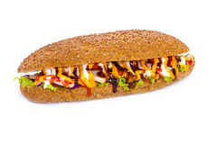 Huge sub sandwich Stock Photography