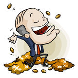 Huge Success. Cartoon Series Royalty Free Stock Photo