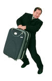 Huge suitcase Royalty Free Stock Photos