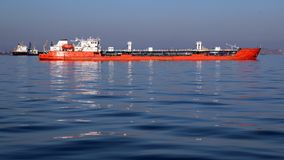 Huge tanker on the high seas Stock Photography