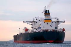 Huge tanker ship. Tanker ship moving on Marmara sea Stock Image