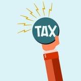 Huge Tax Bomb Stock Image