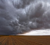 A huge and terrible storm Royalty Free Stock Photo