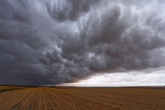 A huge and terrible storm cloud Stock Images