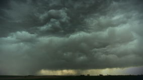 Huge Thunderstorm stock footage