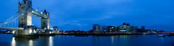 HUGE-Tower Bridge At Twilight Stock Photography