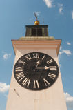 Huge tower clock Royalty Free Stock Photo