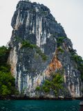 Limestone Karst In Phang Nga Bay Thailand royalty free stock photos