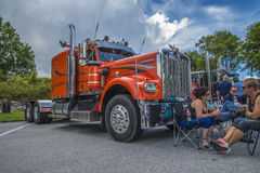 Huge truck, kenworth Royalty Free Stock Photo