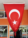 Huge turkish flag Royalty Free Stock Images