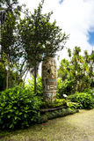 Huge Vase in a Beautiful Garden at Monte above Funchal Madeira. This wonderful garden is at the top of the cablecar from the seafront in Funchal. It is filled stock photography