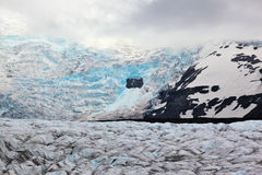 The huge Vatnajokull glacier Royalty Free Stock Photo