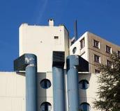 Huge ventilation shafts Royalty Free Stock Image