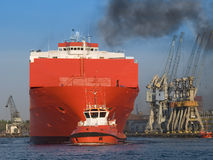 Huge Vessel Stock Photo