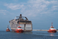Huge Vessel Stock Photography