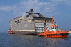 Huge Vessel Stock Images
