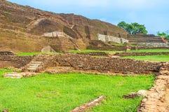 The huge walls of Sigiriya Palace Royalty Free Stock Photography