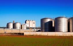 Huge warehouse facilities Stock Photography