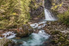 Free Huge Waterfall In South Tyrol Royalty Free Stock Photos - 116340948