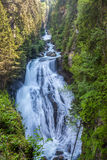 Huge Waterfall in  South Tyrol Stock Photos