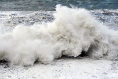 Huge wave Royalty Free Stock Photo