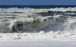 Huge wave at the beach Stock Photography