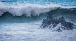 Huge wave Royalty Free Stock Photos