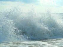 Huge waves in indian ocean near Sri Lanka Royalty Free Stock Image