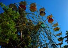 Huge wheel Stock Photo