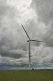 Huge wind power generator Royalty Free Stock Photo