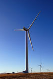 Huge wind power windmill Stock Image