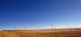 Huge wind power windmill Royalty Free Stock Photo